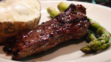 Asian Marinated Skirt Steak Recipe