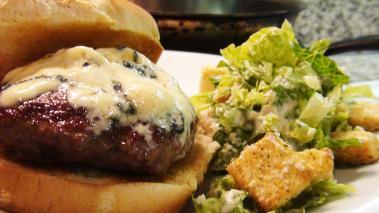 Blue Cheese Burger Recipe