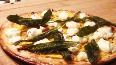 Butternut Squash Flatbread Pizza