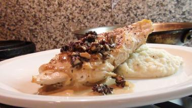 Chicken Breasts with Morel Mushroom Sauce