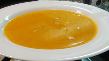Coconut Curry Butternut Squash Soup Recipe