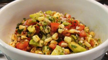 Corn Avocado & Tomato Salsa Recipe