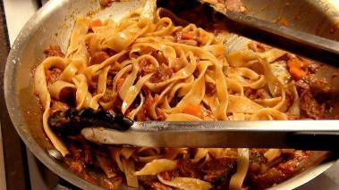 Fettucini With Pork Sugo Recipe