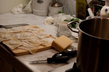 Butternut Squash Agnolotti
