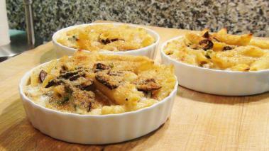 Asparagus Mushroom Mac 'n Cheese Recipe