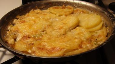 Potato Gratin With Cauliflower Recipe