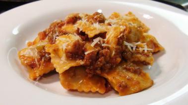 Ravioli Bolognese Recipe
