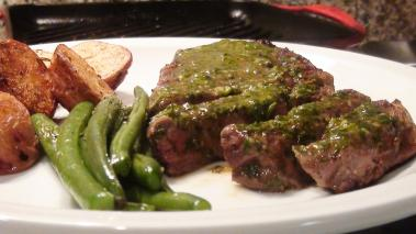 Ribeye Steak with Chimichurri