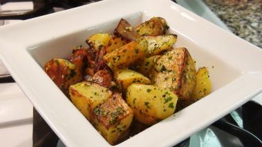 Roast Potatoes with Garlic and Parsley Recipe