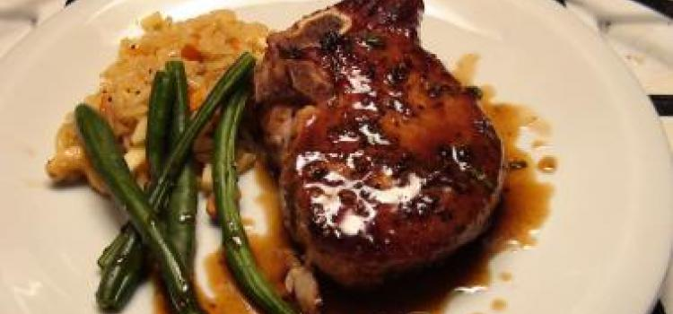 Maple Glazed Pork Chop Recipe