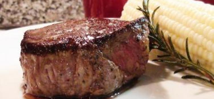 Filet Mignon with Rosemary Butter