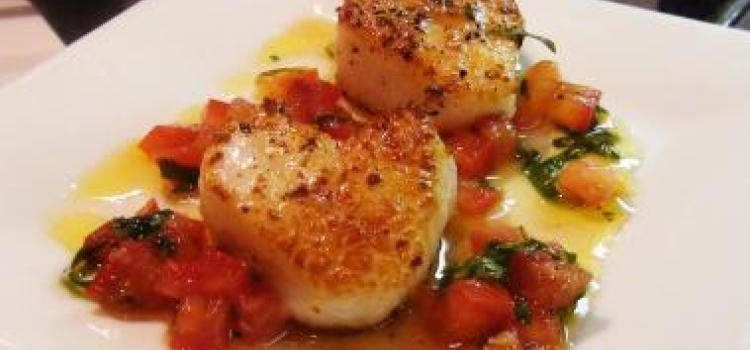 Valentines Day Heart Shaped Scallops