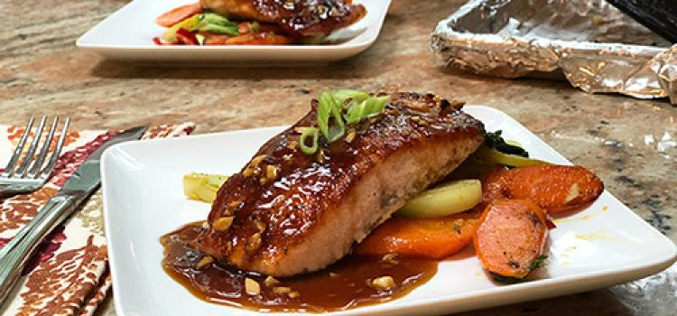 Review of Home Chef's Teriyaki Ginger Glazed Salmon