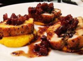 Mushroom Stuffed Pork Tenderloin Recipe
