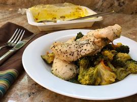 Review of Fresh 'n Lean's Teriyaki Broccoli with Chicken Tenders