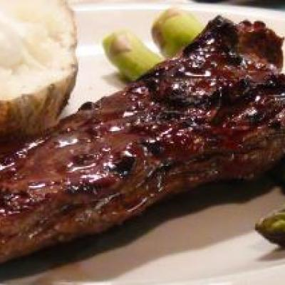 Asian Marinated Skirt Steak Recipe