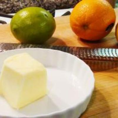 Citrus Compound Butter