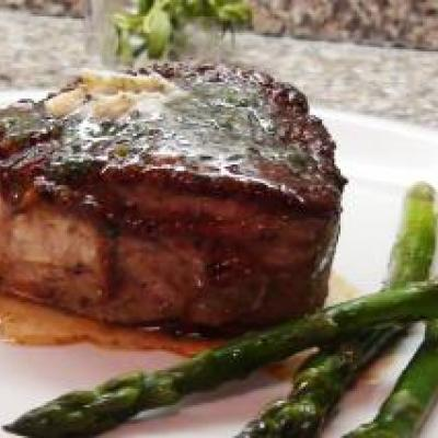 Filet Mignon with Tarragon Butter Recipe