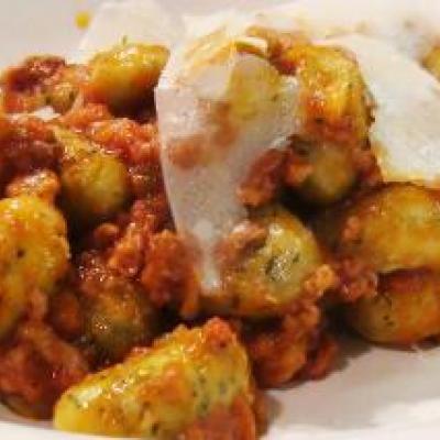 Gnocchi Bolognese Recipe