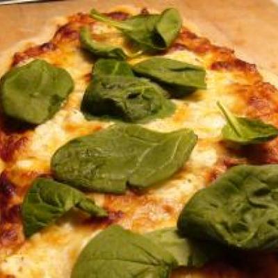 Asparagus Mushroom Pizza