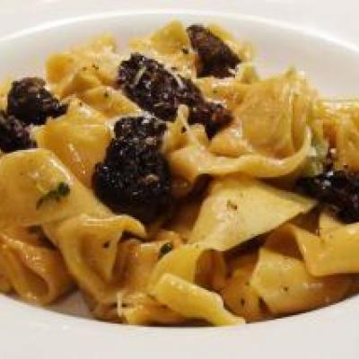 Pappardelle with Morel Mushrooms Recipe