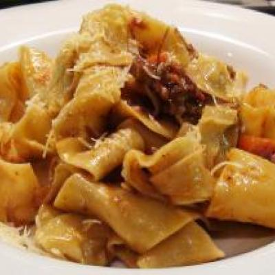 Pappardelle with Pork Sugo Recipe