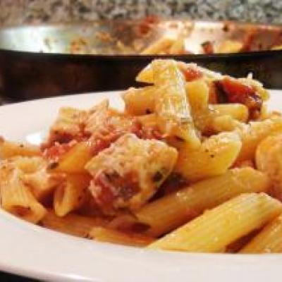 Chicken Penne Arrabiata