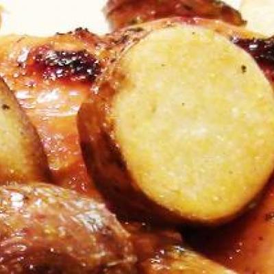 Roast Potatoes with Rosemary and Lemon Recipe