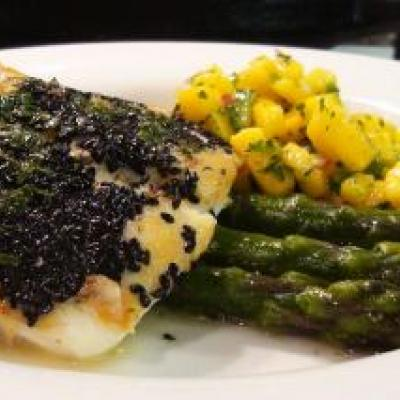 Sesame Crusted Halibut Recipe