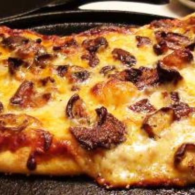 Wild Mushroom Pizza Recipe