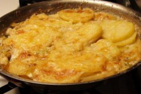 Potato Leek Gratin Recipe