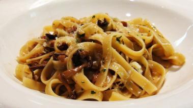 Fettucini Pasta with Mushroom Sugo | No Recipe Required