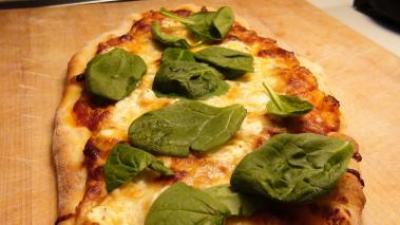 Asparagus & Mushroom Pizza Video | No Recipe Required